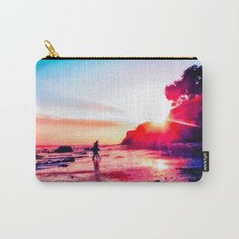 beach summer sunset in California, USA Carry-All Pouch