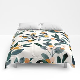 Clementine Sprigs Comforters