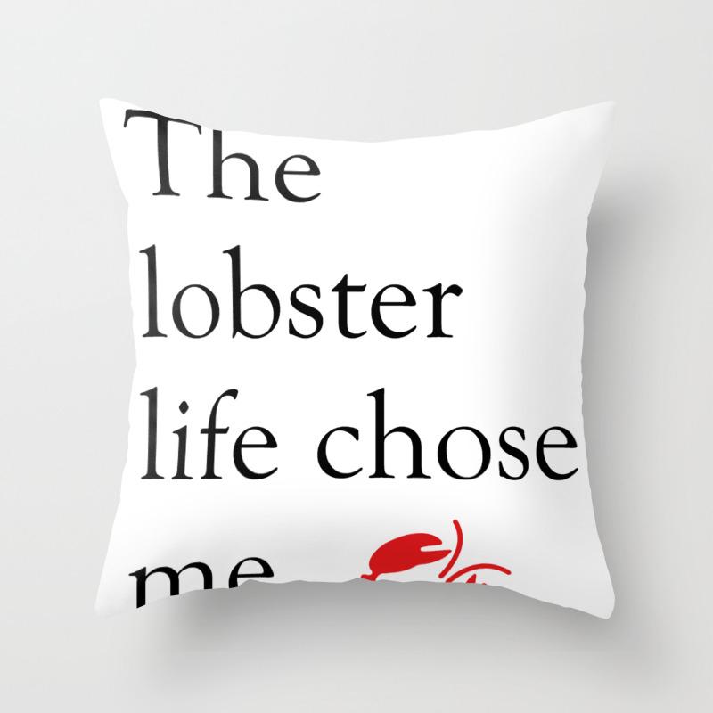 The Lobster Life Chose Me Throw Pillow by Misschloedavis PLW8886761