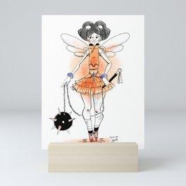 Flail Magical Girl Mini Art Print