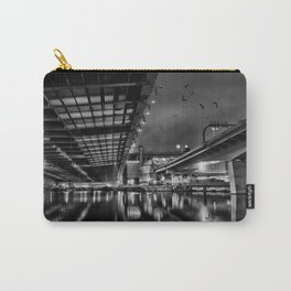 Boston view  under Zakim bridge from North Point Park Carry-All Pouch