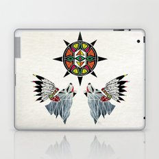 wolf king Laptop & iPad Skin