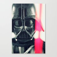 vader Canvas Prints featuring Vader by Fanboy30