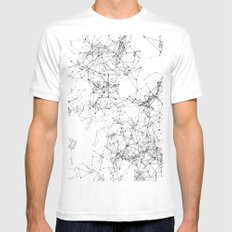 Artificial Constellation 200.03.4252 White Mens Fitted Tee MEDIUM