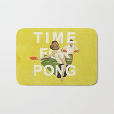 Time For Pong Bath Mat