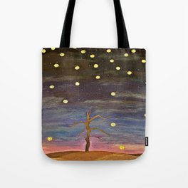 Partially Stars Tote Bag
