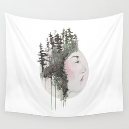 """""""Sometimes, even the snow is sad."""" Wall Tapestry"""