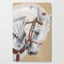 Horse Portrait 01 Cutting Board