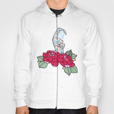 pin-up and roses Hoody