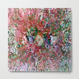Abstract Composition 671 Metal Print