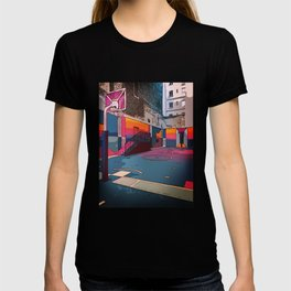 Play the game: Basketballcourt T-shirt