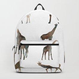Giraffes Pattern Backpack