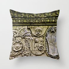 Details on the Wall Throw Pillow