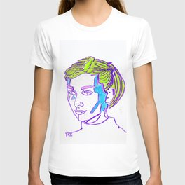 Stained Glass Hepburn T-shirt