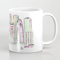tokyo Mugs featuring Tokyo by Ursula Rodgers
