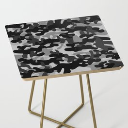 Camouflage (Gray) Side Table
