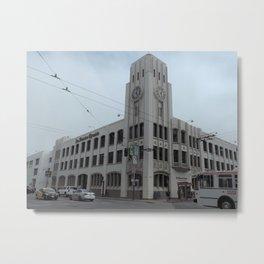San Francisco Chronicle Metal Print