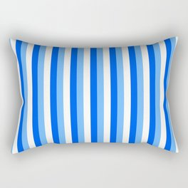 Team Colors 4... blue, light blue Rectangular Pillow
