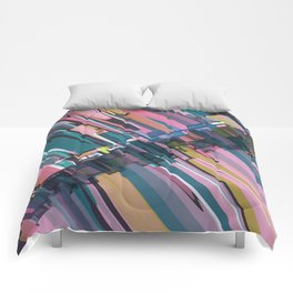 Abstract Composition 637 Comforters