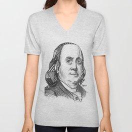 Ben Franklin Unisex V-Neck