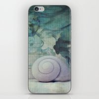 ghost in the shell iPhone & iPod Skins featuring Shell by KunstFabrik_StaticMovement Manu Jobst