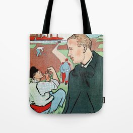 Mévisto in the country French theatre ad Tote Bag