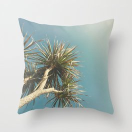 Spring Palm Throw Pillow