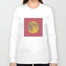 Chinese Mid-Autumn Festival Moon Cake Print Long Sleeve T-shirt