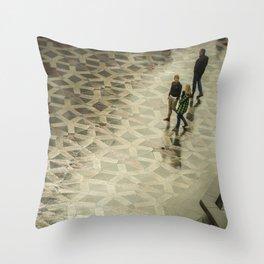 COPENAGUE WALK Throw Pillow