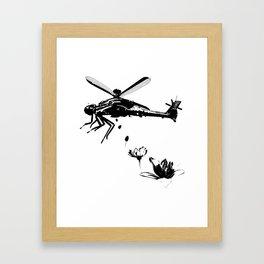 Helicopter.. Framed Art Print