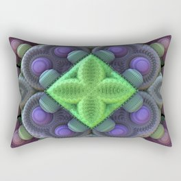 3D Fractal Abstract Thingy Rectangular Pillow