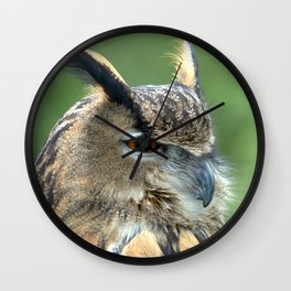 Keen eyes Wall Clock