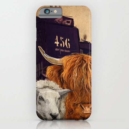 Sheep Cow 123 iPhone & iPod Case