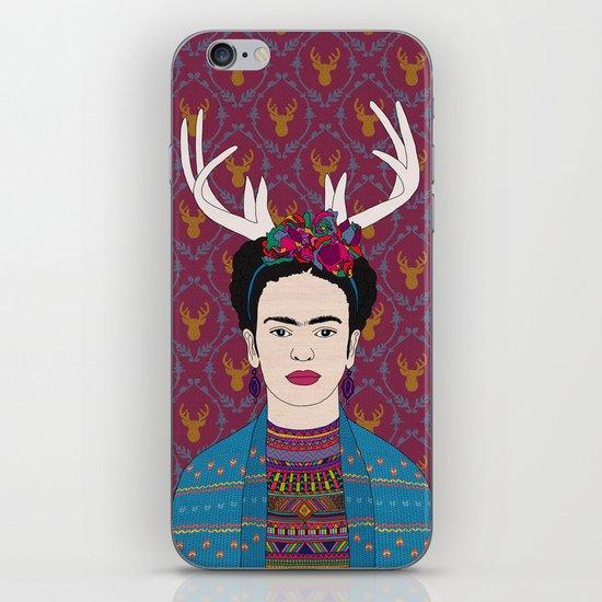 DEER FRIDA iPhone & iPod Skin