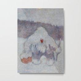 """""""Snow Troll"""" by Theodor Kittelsen Metal Print"""