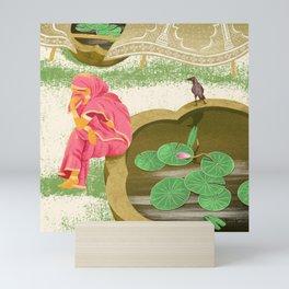 Weeping lady Mini Art Print
