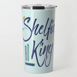 Booklover Shelfie King Travel Mug