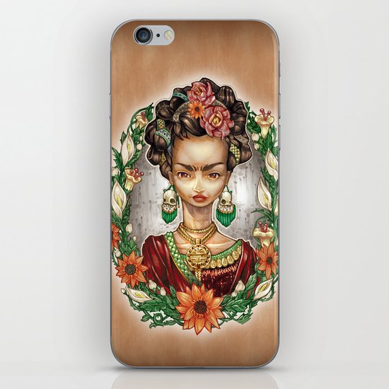 KAHLO iPhone Skin