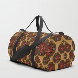Onyx Flower (Modern Tear) Duffle Bag