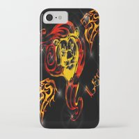 astrology iPhone & iPod Cases featuring Leo Astrology Sign by TrinityHawk Photography & Multimedia