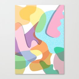Matisse Colorful Organic Shapes Canvas Print