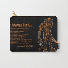 Autumn People 3 Carry-All Pouch