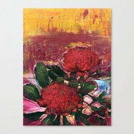 Waratah Dreaming Canvas Print