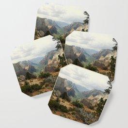 Above Zion Canyon Coaster