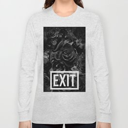 flowers 84 - exit Long Sleeve T-shirt