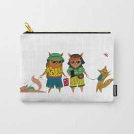 Tourist Cats Carry-All Pouch