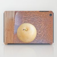 asian iPad Cases featuring Asian Pear by Lyssia Merrifield