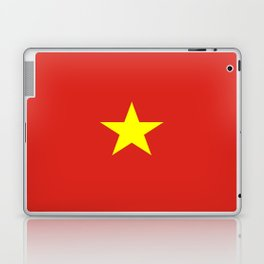 Flag of vietnam Laptop & iPad Skin