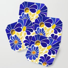 The Happiest Flowers Coaster