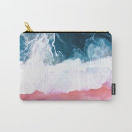 Aerial Coastal View Carry-All Pouch